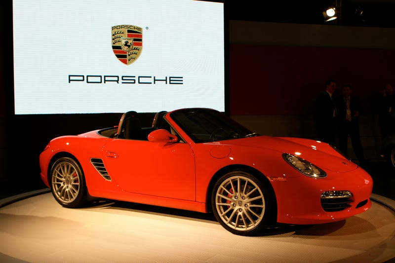 2009 Porsche Boxster Revealed Live