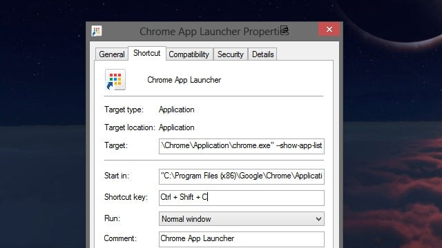 Give Chrome's App Launcher a Keyboard Shortcut for Instant Access