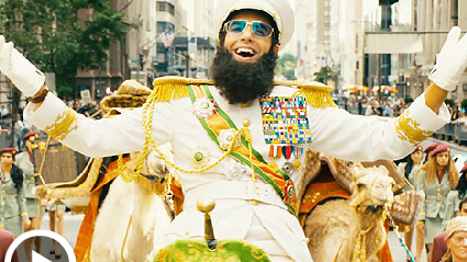 The Dictator: Sacha Baron Cohen Does Saddam Hussein