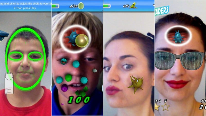 In This Cool (and Gross) New iOS Game, Your Face is the Battleground