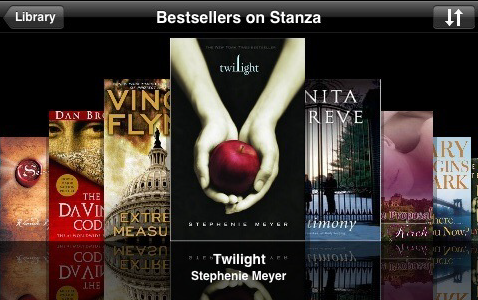 Stanza Turns Your iPhone into a Kindle
