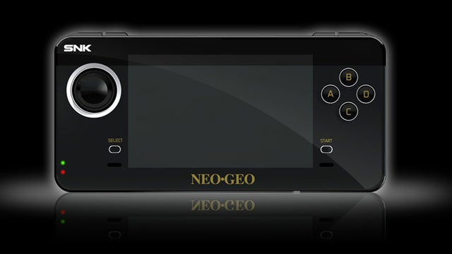 "The ""New"" Neo Geo Handheld Goes on Sale Very Soon"