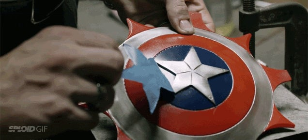 Captain America should use these throwing ninja star shield weapons