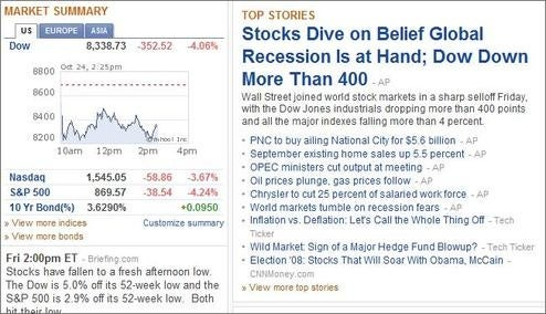 Silver Lining: Radar Closure Means Recession Is Over!