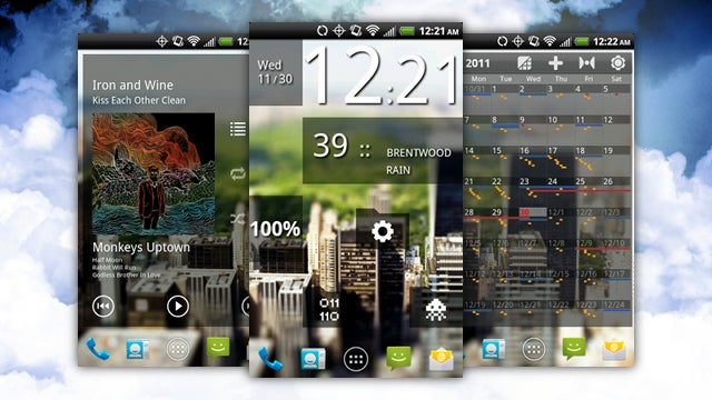 The Busy City Home Screen
