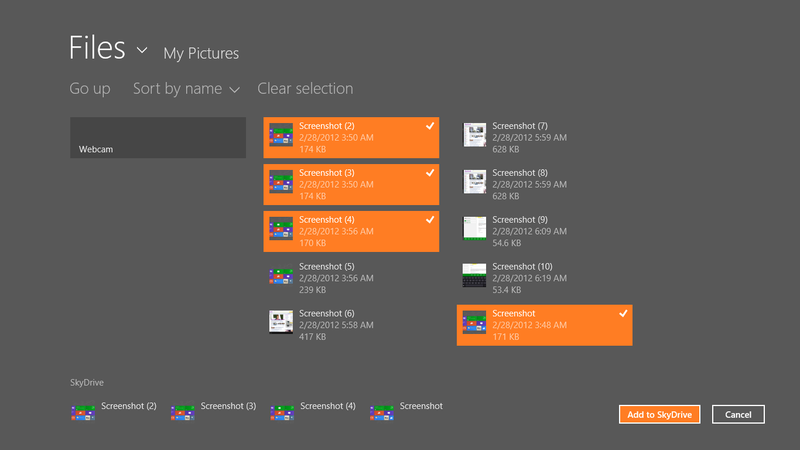 Windows 8 Consumer Preview Gallery