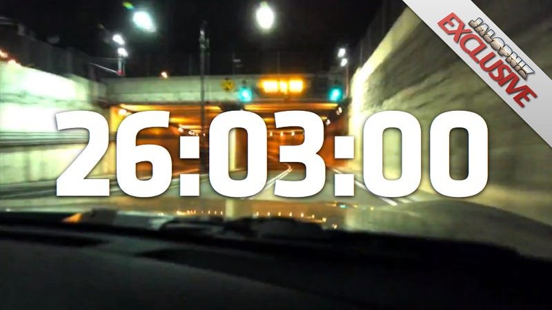 Driver sets new record for fastest lap around Manhattan