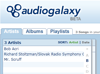 Audiogalaxy Desktop Streaming Service Now Available to All