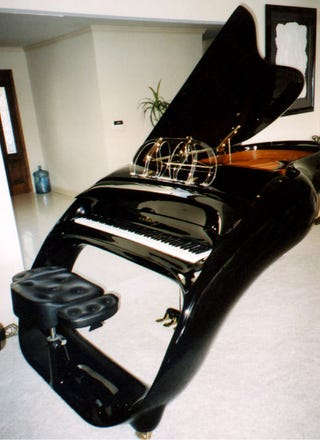 Schimmel Pegasus Grand Piano Could Probably Travel Through
