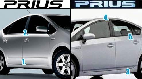 2010 Toyota Prius Versus Old Toyota Prius