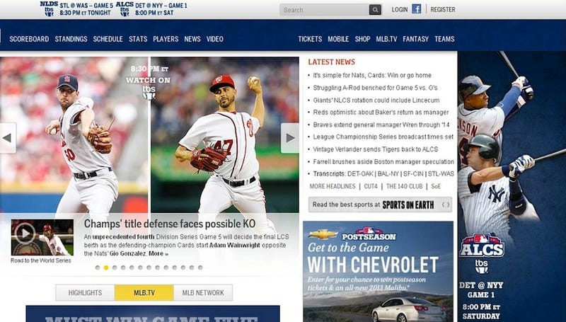 MLB.com Has Already Penciled In The Yankees For An ALCS Appearance