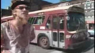 See some old buses and cars in this stupid old video...