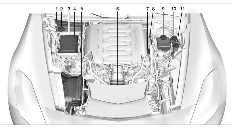 This Is The 2014 Corvette's Rear End, Engine Bay And Interior