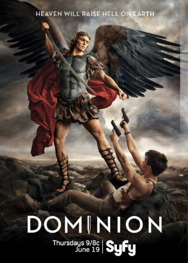 Exclusive Look Inside Syfy's Post-Apocalyptic Angel Drama Dominion