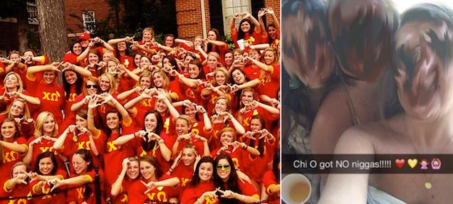 """nfnoojsah3jvwiadhtfa UofA Girl Kicked Out of Sorority After """"NO Niggas!!!!!"""" Snapchat"""