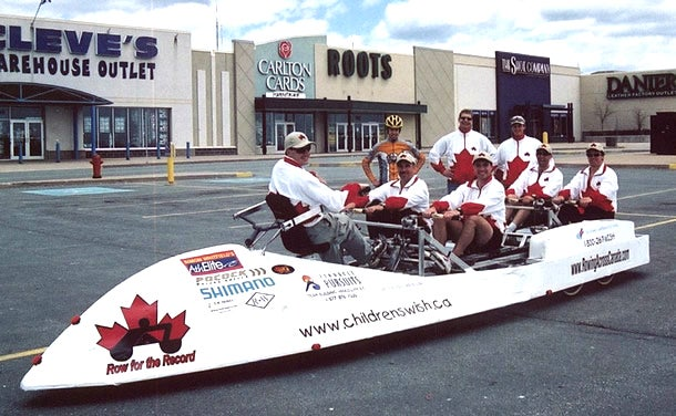 Rowing Across Canada in a 'Road-Boat'