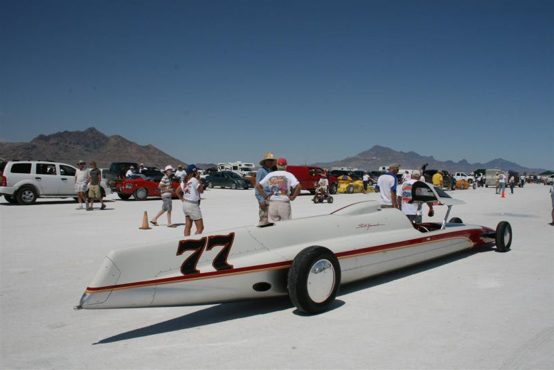 Seth Hammond's Gas Lakester Hits 301 MPH, Smashes Record