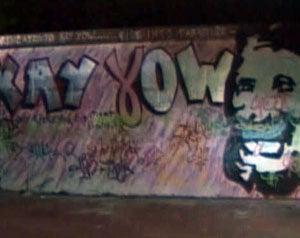 Jerks Deface Kay Yow Tribute
