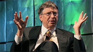 Bill Gates Trades Microsoft Stock for Garbage