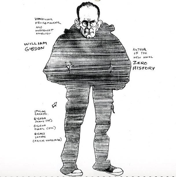 A Used Book Store Clerk's Amazing Caricatures of Science Fiction Authors
