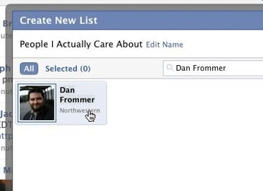 Tweak Facebook to Display Only Updates You Care About