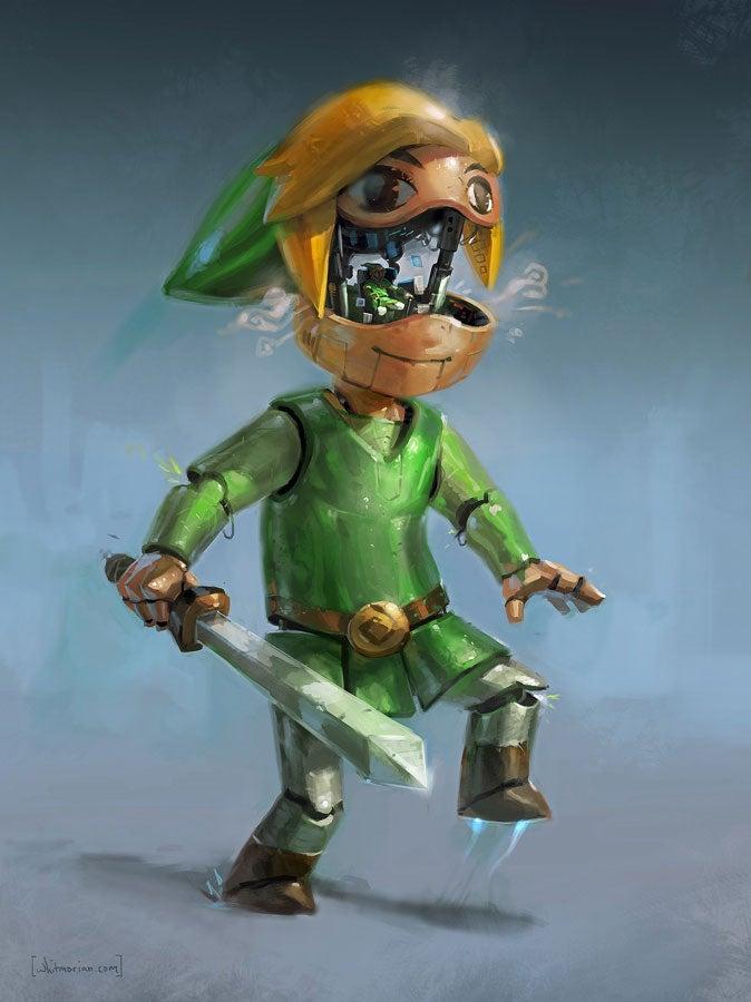 The Legend Of Zelda: Link Is Crushing Cities