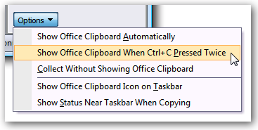 Closing Microsoft Office's Annoying Clipboard Bar