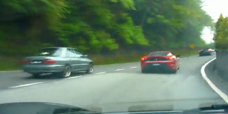 VIDEO: Three Ferrari F430s Reenact Need For Speed