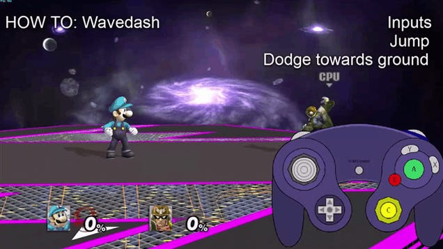 Throwback: How To Wavedash In Super Smash Bros.