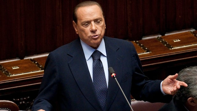 At Last, Berlusconi Explains 'Bunga Bunga'
