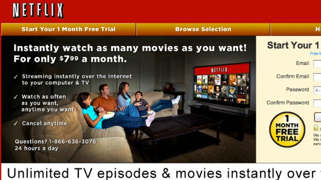 Netflix Now Charging More For Plans With Both Unlimited Streaming and DVDs