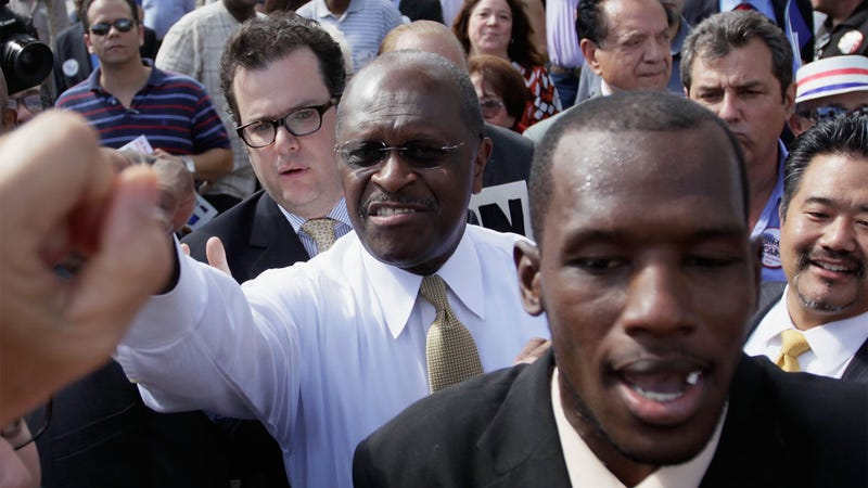 Why Does Herman Cain Get His Own Secret Service Detail?