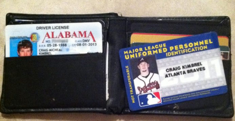 Hey, Craig Kimbrel! Don't Worry, The Internet Has Found Your Wallet