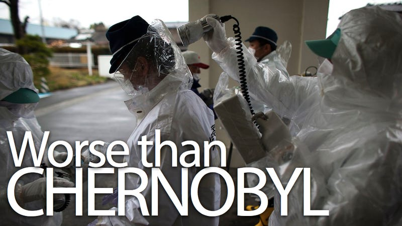 Japanese Government Finds Areas Around Fukushima More Dangerous than Chernobyl Standards (Updated)