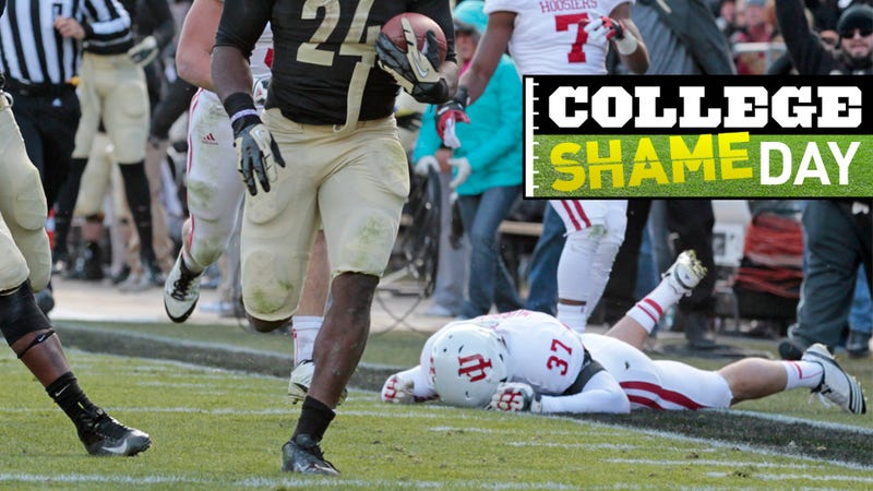 College ShameDay: Who Embarrassed Themselves Over The Holiday Weekend (Besides Indiana)?