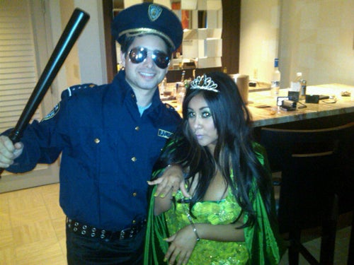 Celebs Post Photos Of Their Halloween Costumes
