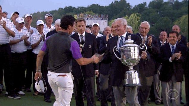 Rory McIlroy Wins PGA Championship In Dramatic Finish At Dusk