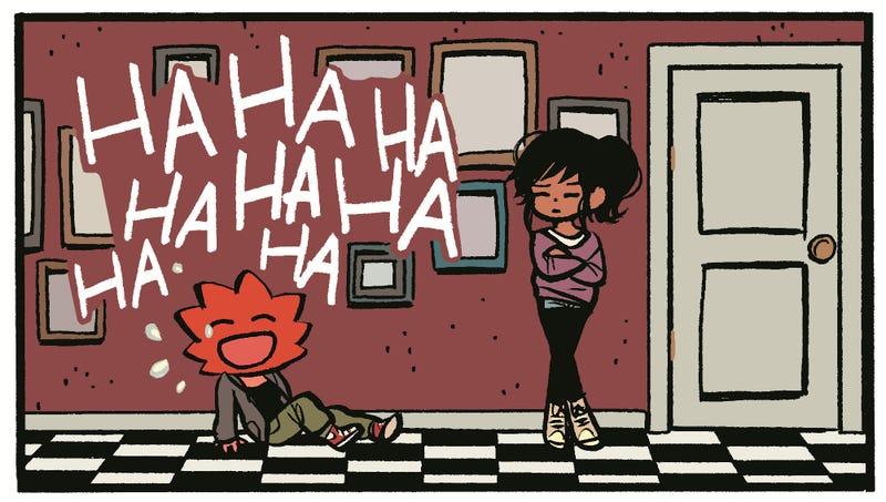 Here's your sneak peek at the Scott Pilgrim creator's new comic