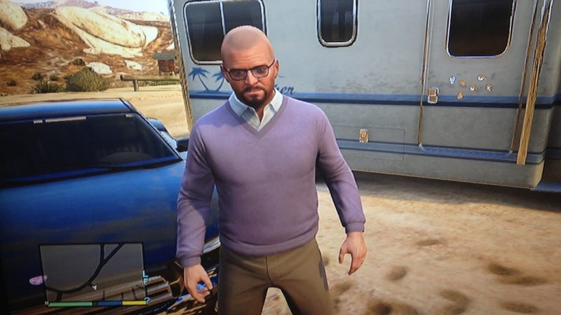 You Can Play GTA V As Breaking Bad's Heisenberg, Basically