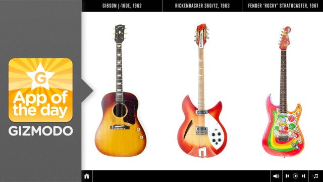 The Guitar Collection: George Harrison for iPad: A Fantastic Look at a Great Musician's Instruments