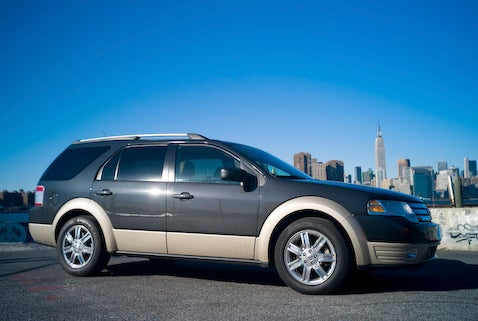 2008 Ford Taurus X, Day One