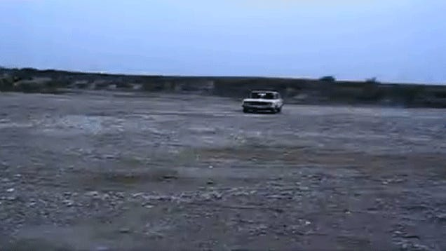 What Happens When You Drive Into A Lake At Speed?