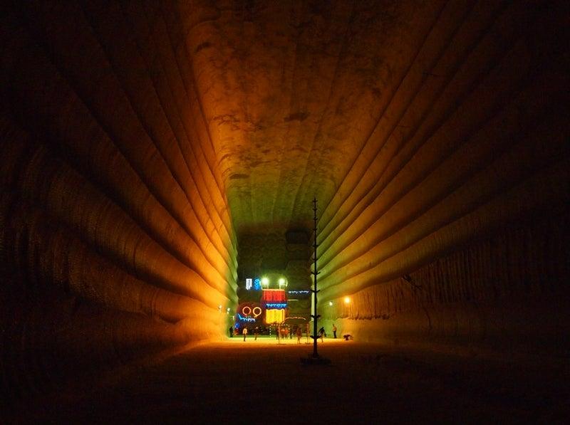 This Ukrainian salt mine is like a tourist resort for morlocks