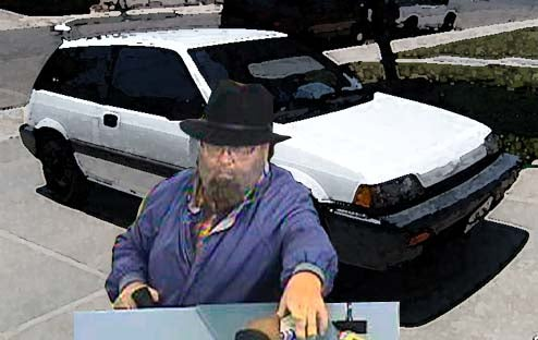 Bank Robber Gets The Disguise Part Right, But Getaway Civic's Rare Color Leads To Arrest