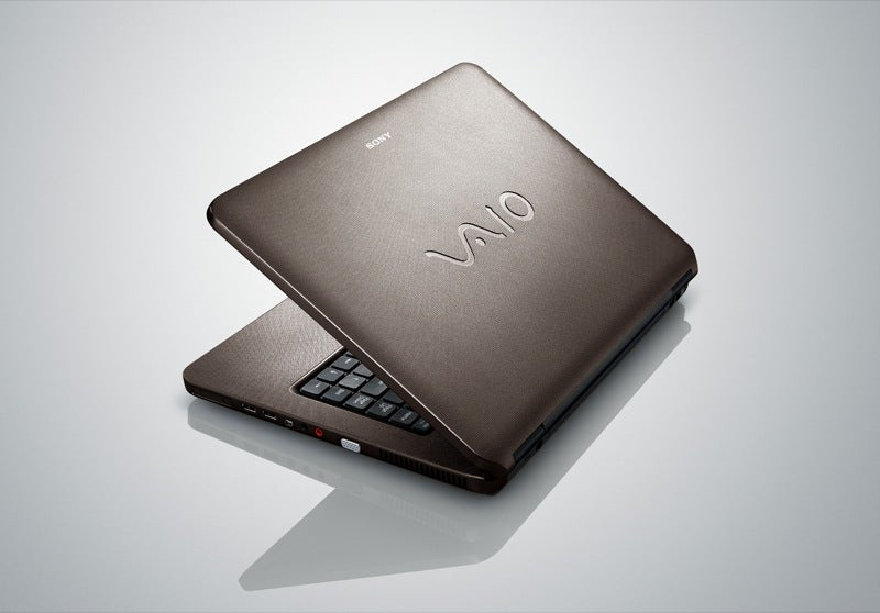 VAIO NR Has Swank Textured Finish, But It's Cheapest Sony Laptop Yet
