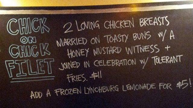 Beaver's Restaurant Promotes Hot Lesbian Sandwich