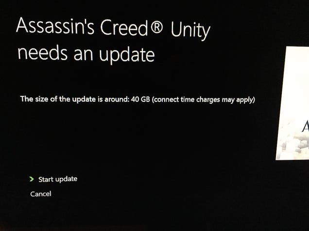 6.7GB Assassin's Creed Unity Patch Issued To Fix Framerate, Other Stuff [UPDATE: Unexpectedly 40GB on Xbox One]
