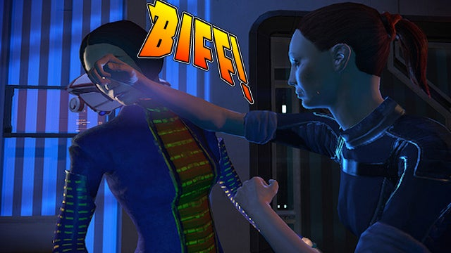 What Does The Future Hold for Mass Effect's Painfully Punched Reporter?