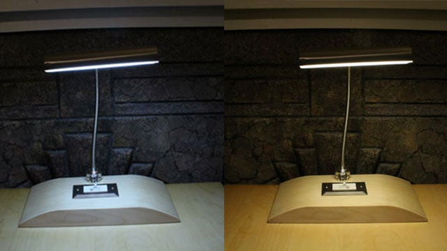 Build Your Own Color Temperature Lamp for Multiple Lighting Options from One Lamp