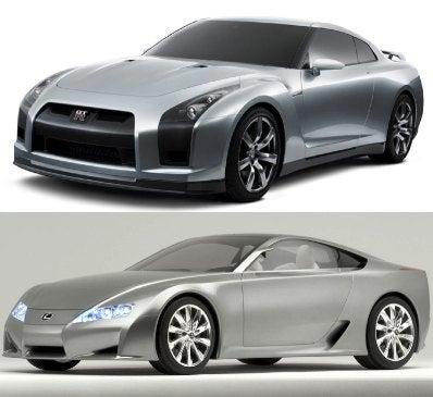 Showdown 2008: Nissan GT-R to Meet Lexus LFA on Corvette's Turf
